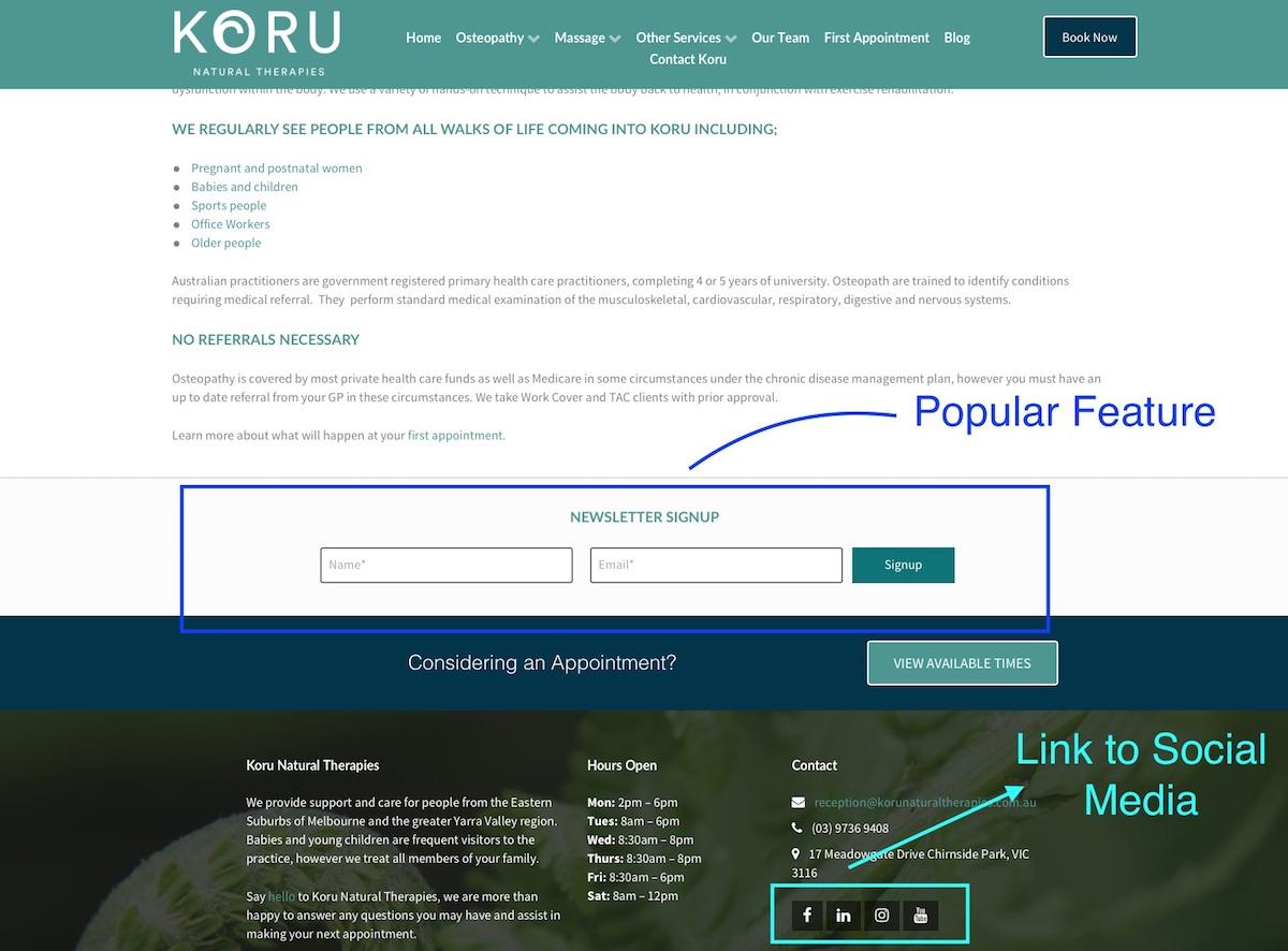 newsletter-signup-social-media-icon-links